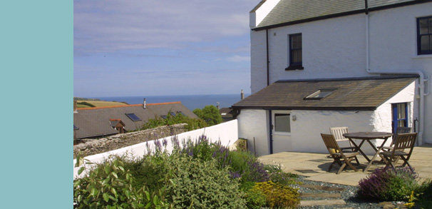 Sea views from the garden