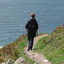 Walking on the South West Coastal Path