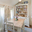 The Dining Room in Kittiwake Cottage