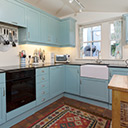 The Kitchen in Kittiwake Cottage