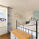 The Main Bedroom in Kittiwake Cottage
