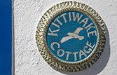 Kittiwake Cottage house sign