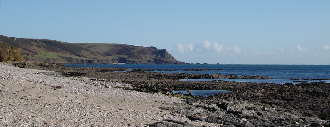 Horsley Cove - near East Prawle